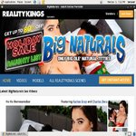 Big Naturals Account Online