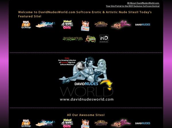 Davidnudesworld Access