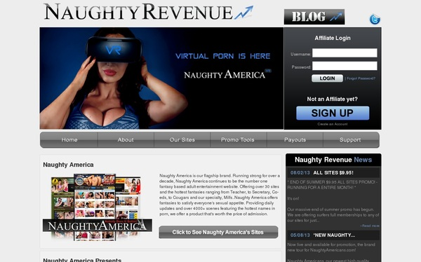 Free Account In Naughtyrevenue.com