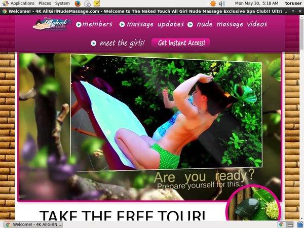 Free All Girl Nude Massage Pass