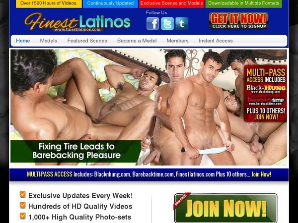 Free Pass For Finestlatinos.com