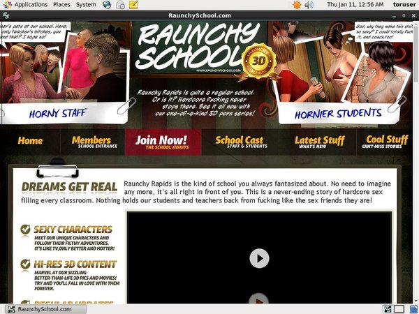 Raunchyschool.com Porn Account