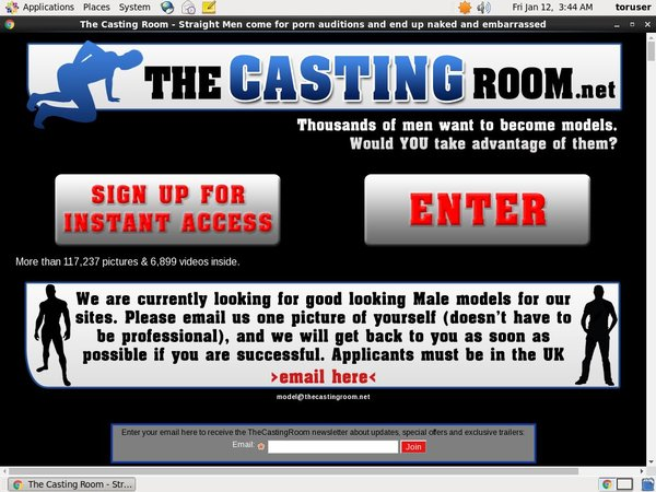 The Casting Room Price