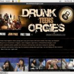 Get Free Drunk Teens Orgies Account