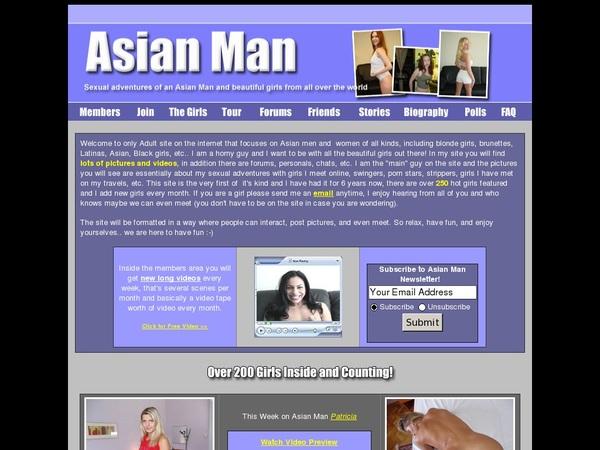 Asian-man.com Renew Subscription
