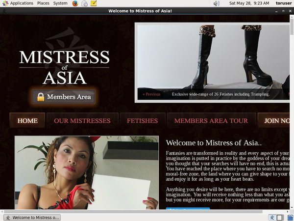 Mistress Of Asia Bank