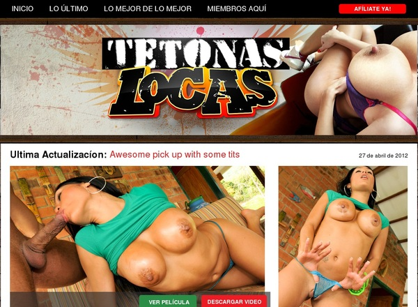 Free Tetonaslocas.com Subscription