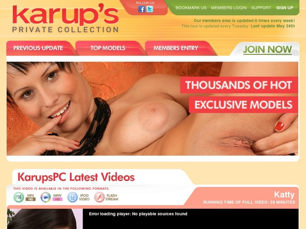Karups PC Create Account