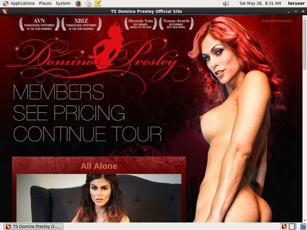 TS Domino Presley Pictures