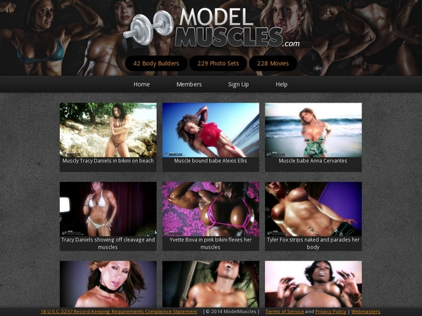 Join Modelmuscles For Free