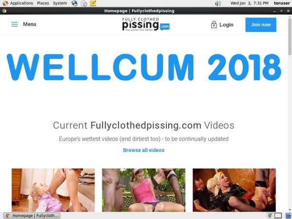 Fullyclothedpissing.com Member