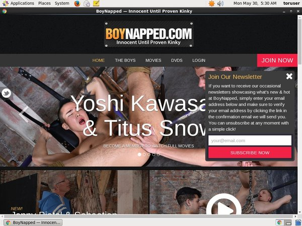 How To Get On BoyNapped For Free