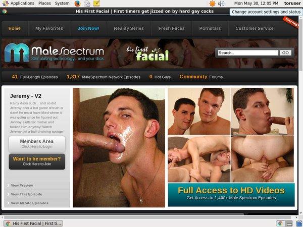 His First Facial Nude