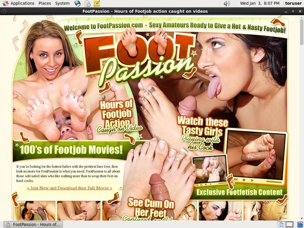 Footpassion.com Videos Free