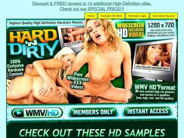 Passwords Hardndirty.com Free