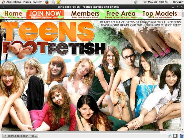 Teensfootfetish.com Account Logins