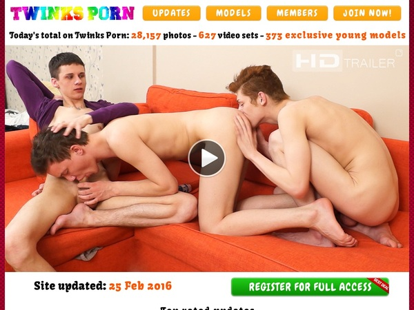 Twinks Porn Join Page