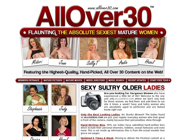 Allover30.com Free Logins
