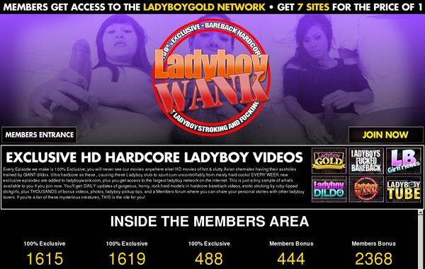 Ladyboywank Pass Premium