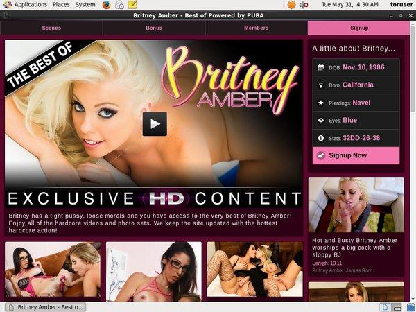 Britneyamber Member Discount
